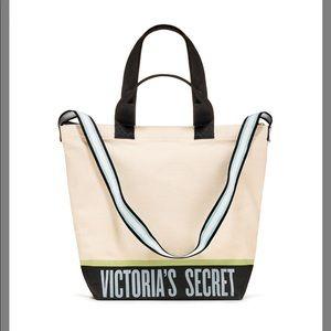 Victoria's Secret Canvas Cooler Tote NWT